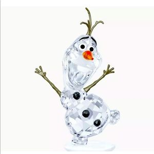 NIB Swarovski Disney Frozen OLAF Crystal Figurine